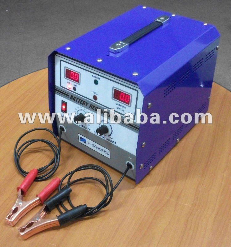 Battery reconditioning equipment