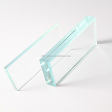 Factory price 10mm tempered ultra clear float glass roof