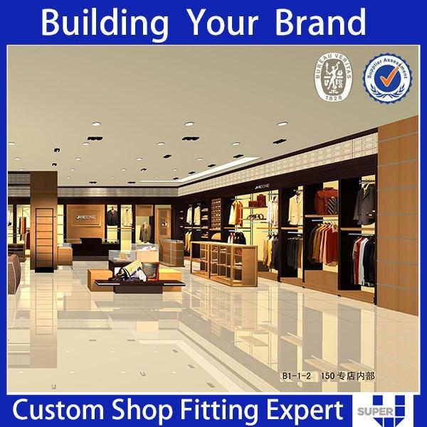 diseño de muebles para tiendas de ropa-Estantes de ...