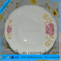 hello kitty porcelain plate with color box, hello kitty children ceramic cake plate