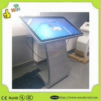 Latest technology 42 inch digital lcd touch screen information kiosk