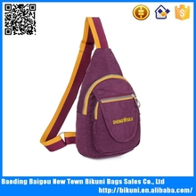 <strong>Fashion</strong> Women's Nylon Chest Bag,Leisure Sport Shoulder Bag