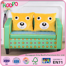 Dongguan kids sofa bed with cartoon printing hot selling in 2016