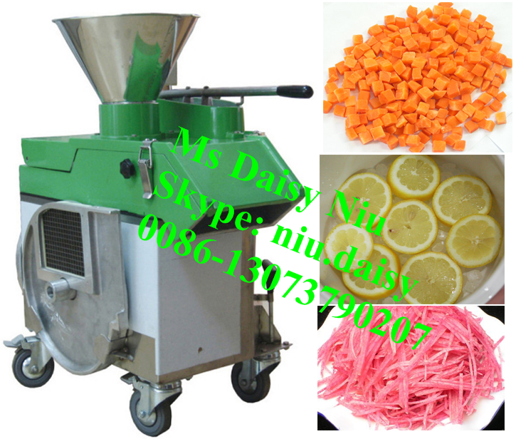 commercial vegetable slicing machine/beet root slicer/carrot cube cutting machine