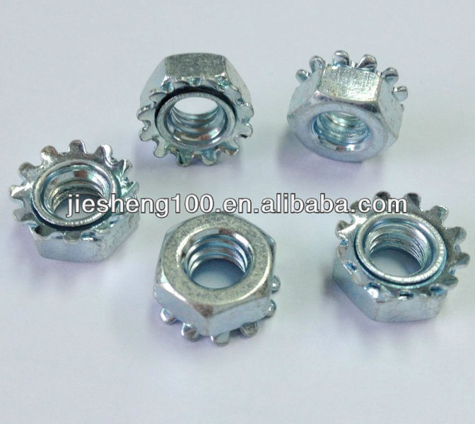 Professional manufacturer crown nut in JS