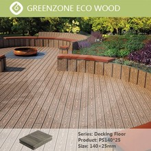 100% Recycled Engineered Wood Outdoor Bamboo Plastic Composite Deck