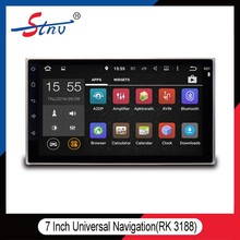 7inch universal Android5.1.1 Car GPS DVD Player WiFi 3G navigation system