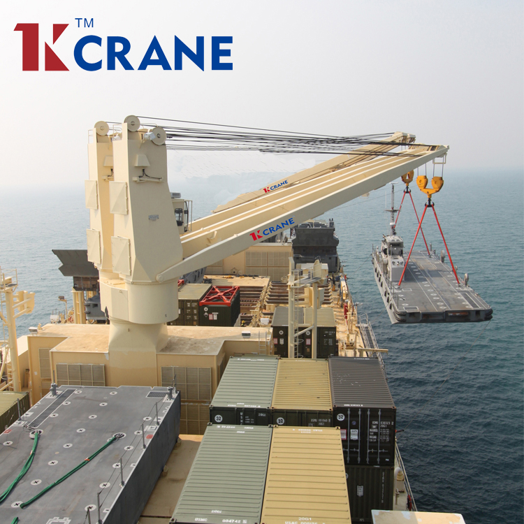 Hydraulic Electric Marine Deck Crane/Ship Crane