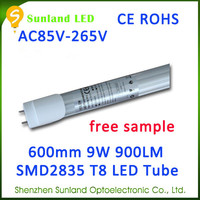 New invention pure white AC85-265V CE ROHS 24w led tube light