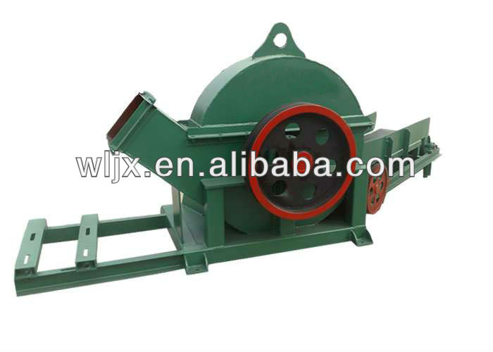 Good quality simple structure and low cost wood chip crusher