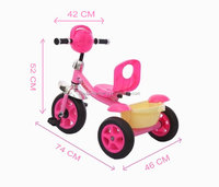 New arrival factory design plastic baby tricycle for toddler