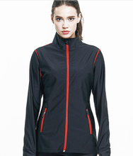 Women Jogging Sweating Suit Sports Jackets With Elasticity Soft Fabric