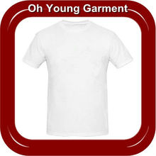 OEM White T-Shirts Producing From China,Unisex T-Shirts White Color Custom By Garment Factory