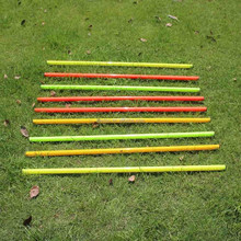 Marker Pole soccer equipment,sports equipment agility pole,football training slalom pole