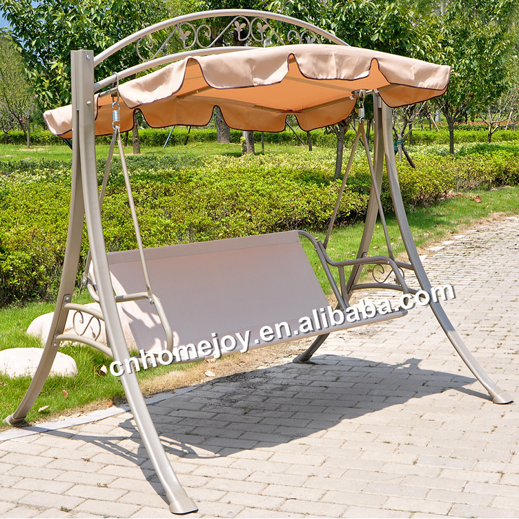 3 seat promotional outdoor swings garden swing for adult for How to build a swing set for adults
