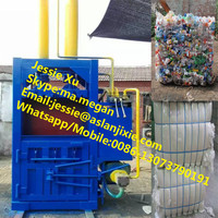 hydraulic baler for plastic/ waste plastic baling machine/ plastic bottle baler machine