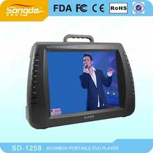 "factory ,7"" 9"" 10"" 11"" 12"" 13"" 16'' 17'' inch portable dvd/evd player,with portable TV function"