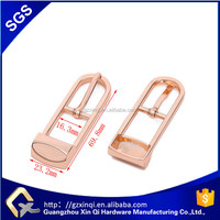 Zinc Alloy material metal bag buckle for handbag hardware