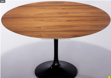 Eero Saarinen Tulip Style Round Wood Table Top for Sale