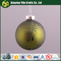 Luxuriant in design solid glass ball cheap bulk christmas gifts