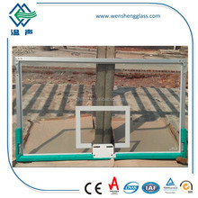 high quality tempered glass for basketball board