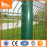 Good quality low price 3D welded wire mesh fence/ european yard guard wire fence