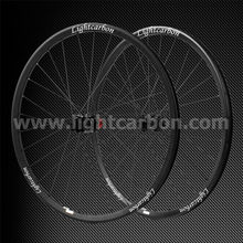 2014 LIGHTCARBON 29ER tubuless carbon wheelset 35mm width Thru-axle AM/DH mountain lightweight wheels