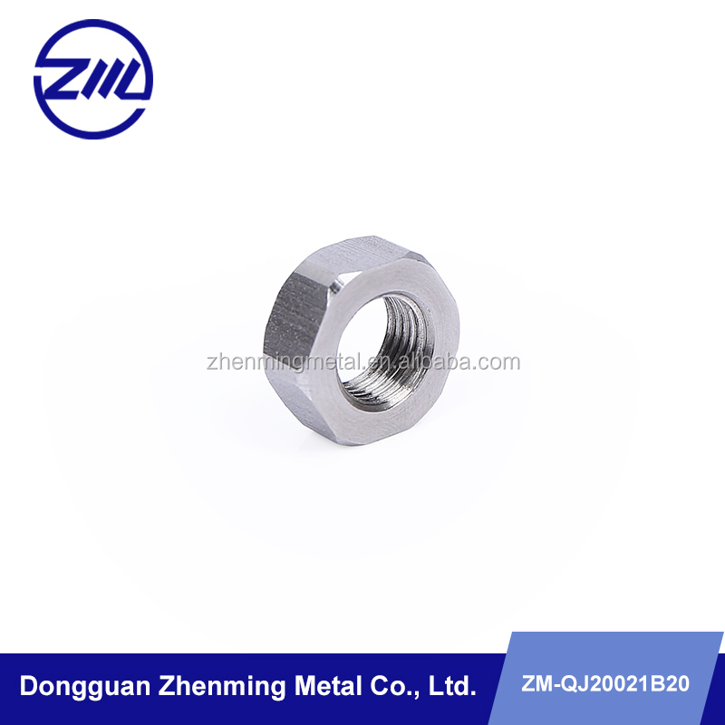 costomed nonstandard hexagon thicken nut , tyre nut cnc part