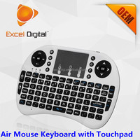 Air Mouse Keyboard i8, 2.4Ghz Mini Wireless i8 Air Mouse with Touchpad