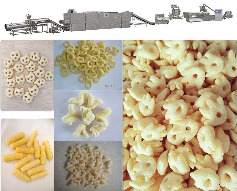 Best Selling Automatic Grain Puff Snack Making Machine