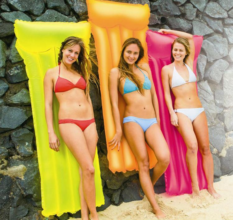 PVC water game Swimming inflatable beach mat