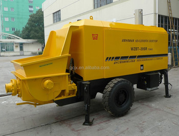 BSR20-05-56 small trailer diesel concrete pump