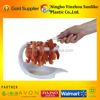 Plastic Bacon Microwave Cooker