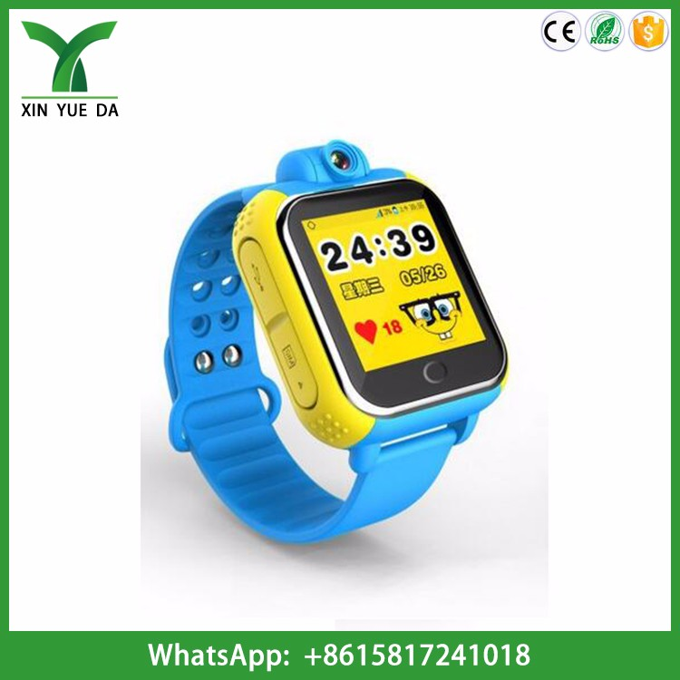 2016 kids 3g wifi smart watch phone go everywhere gps tracker