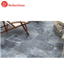 antique bluestone limestone pavers floor tiles ,honed blue limestone slabs for paving