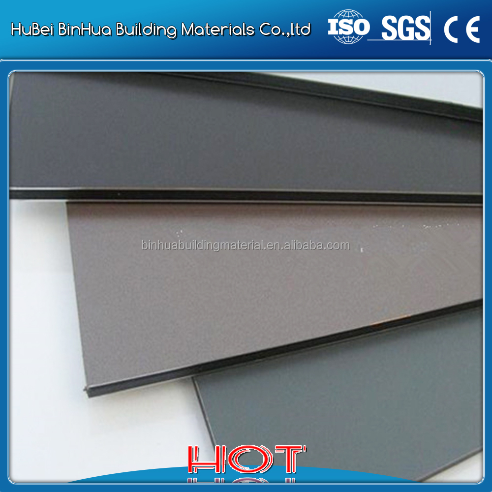 PVDF coated ACP reflective aluminum plate/sheet 2mm