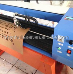 CO2 Laser cutter plotter for fabric paper