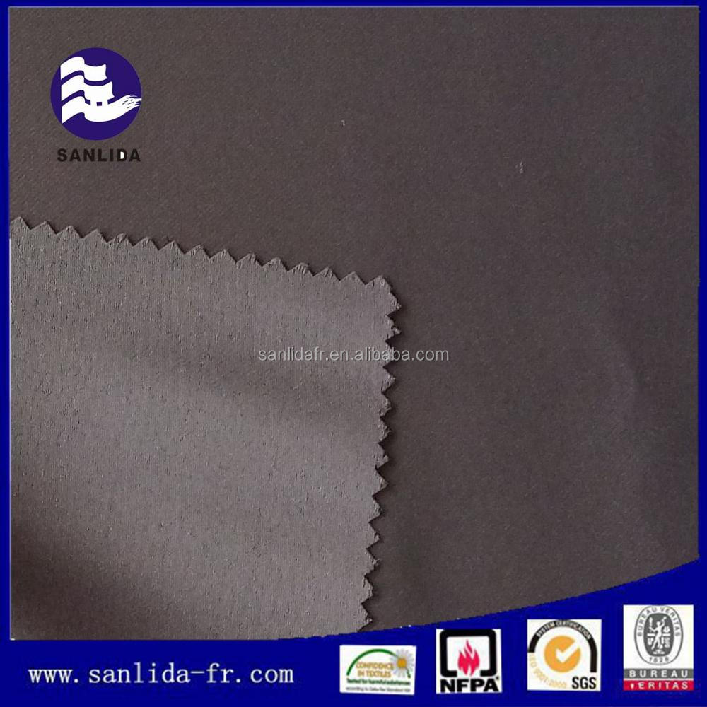Wholesale 100% polyester IFR flame resistant fabric for blackout curtain