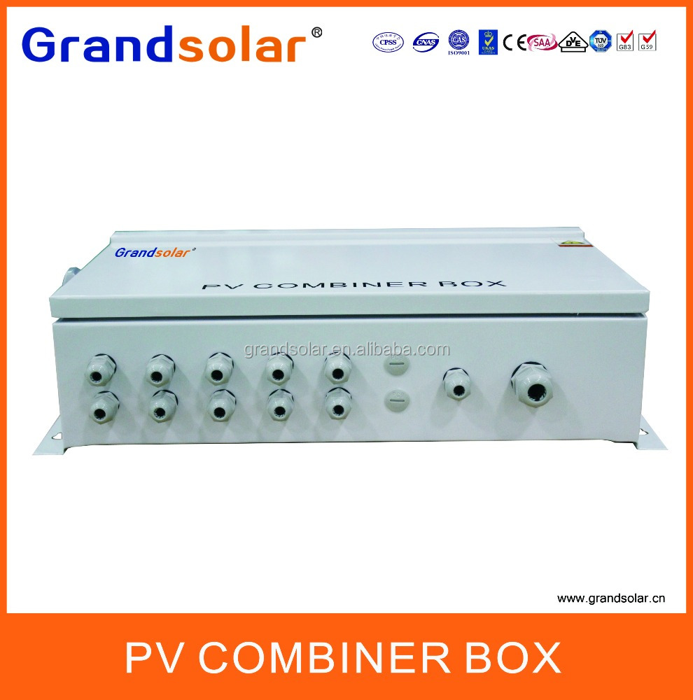 5 IN 1 OUT PV CONNECT WITH INVERTER SOLAR STRING PANEL COMBINER BOX