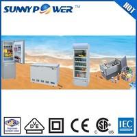 Multifunction 12v 24v DC household solar refrigerator