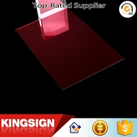 Competitive price Supreme Quality mirror acrylic sheet 100% raw material