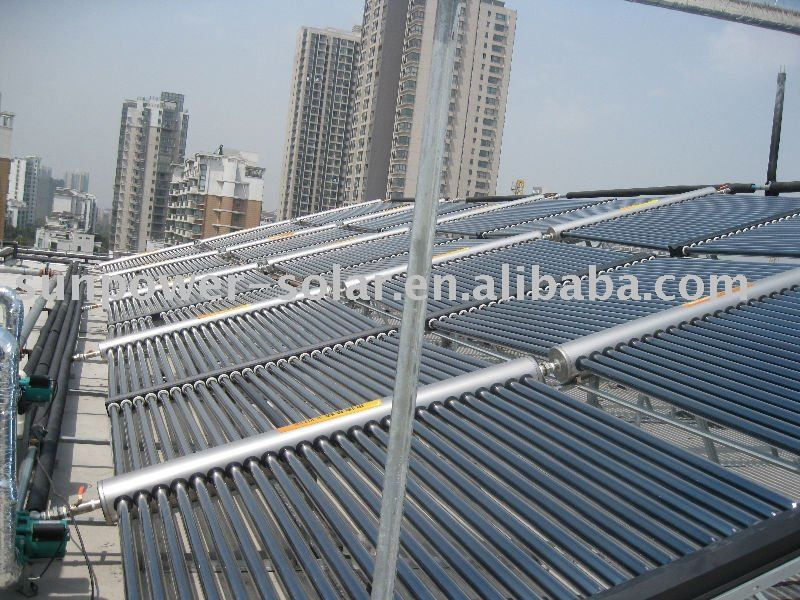 heat pipe solar collector project