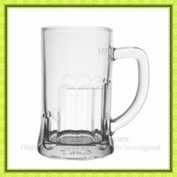 500ml/10oz clear glass beer mug 1 pint glass beer stein,barware glasses