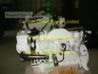 big power!!cummin 6CTA8.3-M300 marine diesel engine 300HP for high speed commercial boat