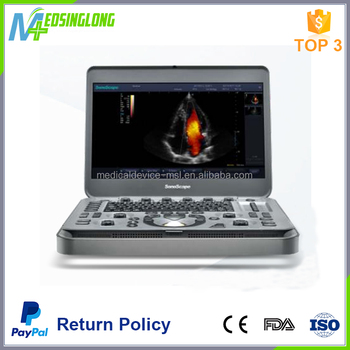 Top quality 15.6inch monitor handheld mini portable ultrasound sonoscape X3