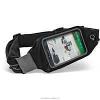 Fashion OEM Waterproof Reflective Light Waist Pack Pouch Running Belt