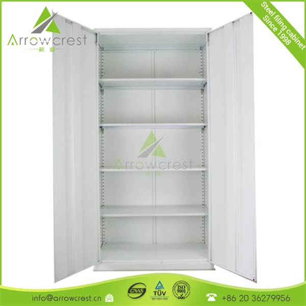 High quality office furniture steel storage cabinets with doors and shelves