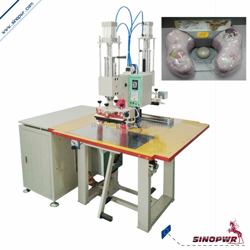 Air balloon high frequency leather embossing machine