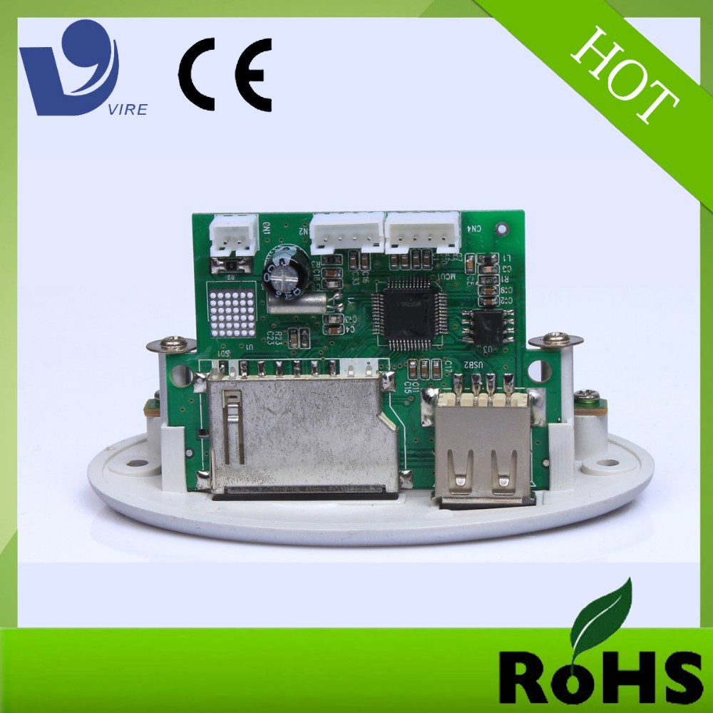customized pcb manufacturer usb sd mp3 player fm radio kit