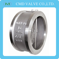 CF8 Wafer Duo Check Valve No Return Valve